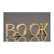 High Quality Brass Book End