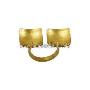 Gold Plated Adjustable Rings