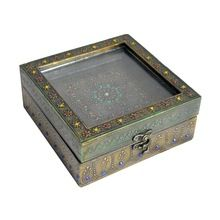 Handmade Vintage Home Decorative Gift Item Metal Craft Antique Jewellery Gift box