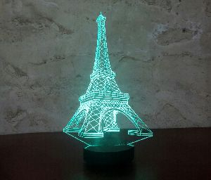 Eiffel Tower 3D Illusion Lamp 02