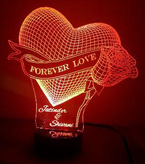 Love 3D Illusion Lamp 03