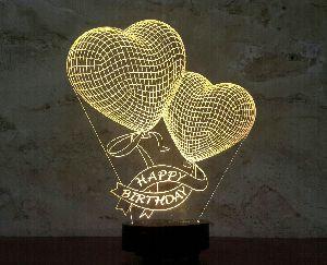 Love 3D Illusion Lamp 05