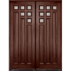 Fancy Teak Wood Door