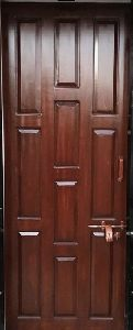 Polished Teak Wood Door