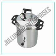 AUTOCLAVE PORTABLE STAINLESS STEEL PRESSURE COOKER TYPE (STERILIZER DRESSING PRESSURE TYPE)
