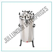 AUTOCLAVE VERTICAL STAINLESS STEEL NUT LOCKING