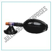 BLACK RUBBER RESUSCITATOR REGULAR ADULT