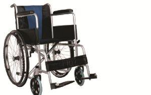 Blue Cushion Wheelchair