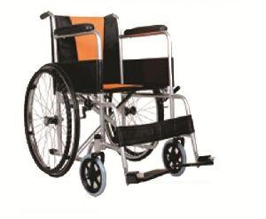 Orange Cushion Wheelchair