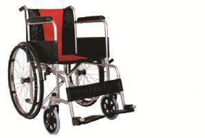 Red Cushion Wheelchair
