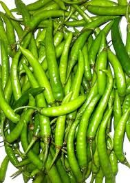 Fresh Green Long Chilli
