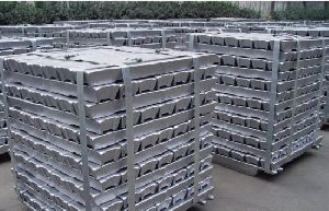 Polished Aluminium Ingots