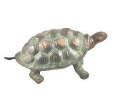 Handmade Brass Vaastu Tortoise With Patina