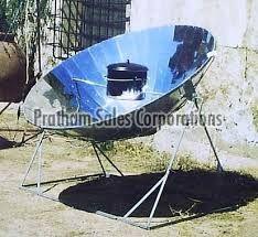 Parabolic Hybrid Solar Thermal Cooker