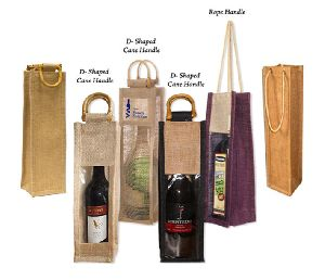 1 Bottle Jute Bag