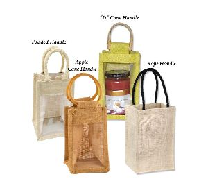 window jute bag