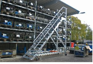 Aluminium Platform Step Ladders 05