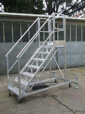 Aluminium Platform Step Ladders 06