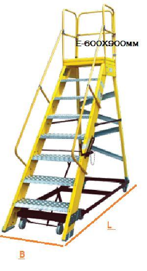 Aluminium Platform Step Ladders 07