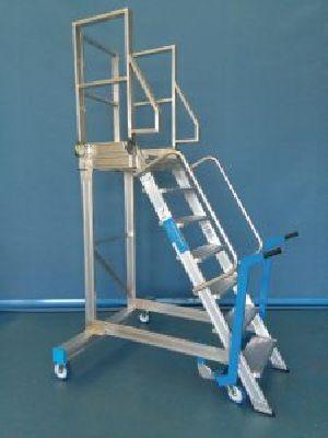 Aluminium Platform Step Ladders 08