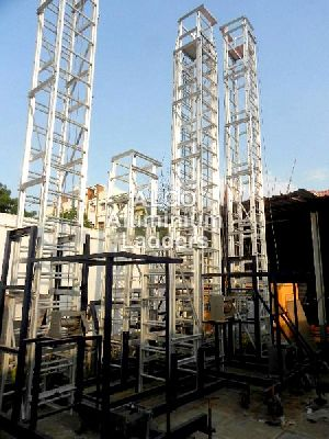 Aluminium Tiltable Tower Ladder 01