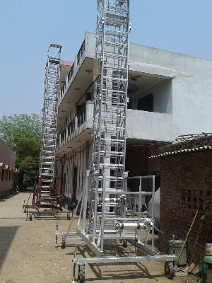 Aluminium Tiltable Tower Ladder 05