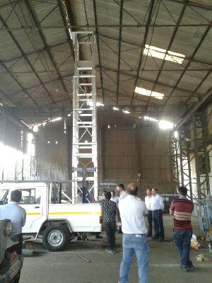 Aluminium Vehicle Mounted Tower Ladder 05