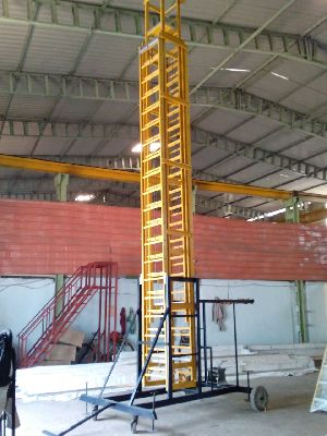 FRP Tiltable Tower Ladder 06