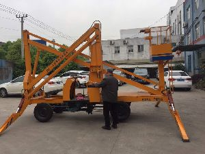 Vehicle Mounted Hydraulic Ladder 02