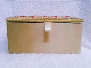 Gold Moti Jewellery Box