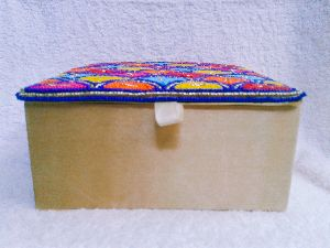 Kundan Work Jewelery Box