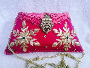 Suraj Embroidered Clutch Purse