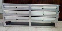 UE-ALHSR-2ML-06 Aluminum Horizontal Sliding Rack