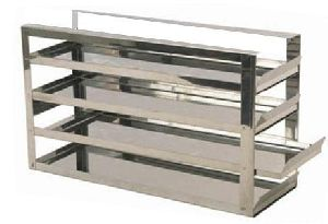 UE-SSHSR-2ML-02 Stainless Steel Horizontal Sliding Rack