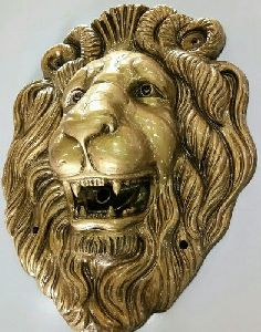 Fiber glass material Lion Face Fountain