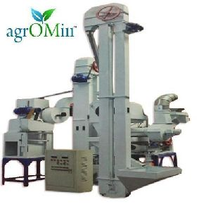 Combined Mini Rice Mill