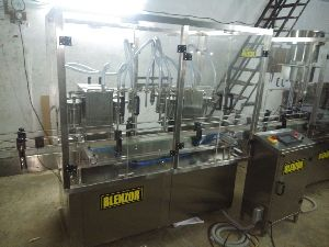 Engine Oil Lubricant Filling Machine