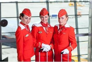 Ladies Cabin Crew Uniform