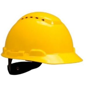 3M H700 Vented 4-Point Safety Helmet