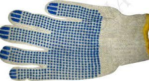 Cotton Dotted Gloves