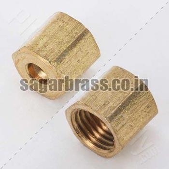 Brass OD Nut