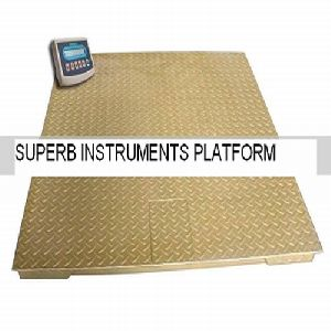 Floor Platform Weighing Scale