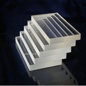 Transparent Quartz Plates