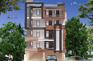 3D & 2D Exterior Elevation Services