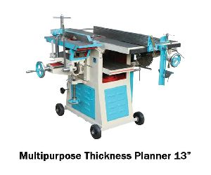 13 Inch Multipurpose Thickness Planner Machine
