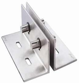 Fin Plate Glass Fittings