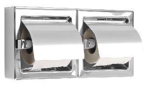Horizontal Double Toilet Paper Dispenser