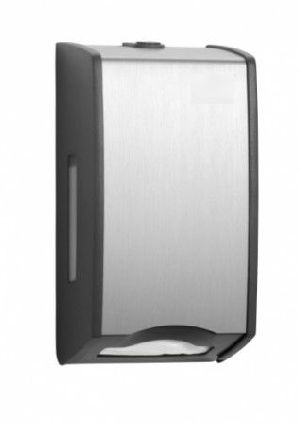 Interleaved Toilet Paper Dispenser