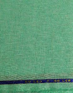 Green 100% Pure Linen Lea 60*60 Fabric