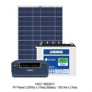 1500 VA Solar Off Grid Combo Set